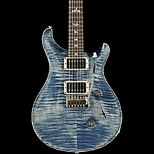 Custom 24 with Carved Top Electric Guitar Faded Whale Blue