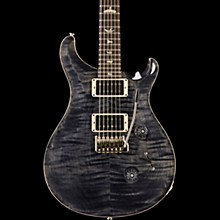 Custom 24 with Carved Top Electric Guitar Gray Black