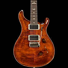 Custom 24 with Carved Top Electric Guitar Orange Tiger