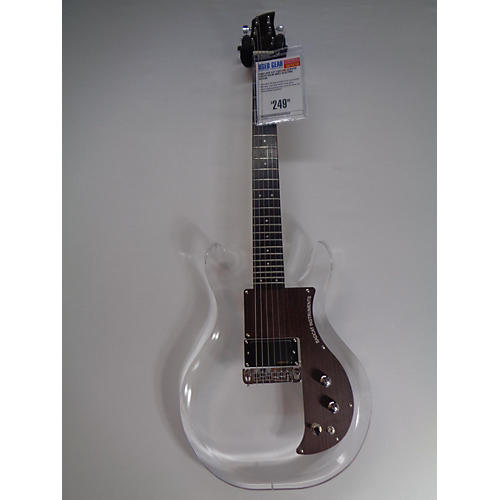 used bad cat custom acrylic lucite solid body electric guitar guitar center. Black Bedroom Furniture Sets. Home Design Ideas