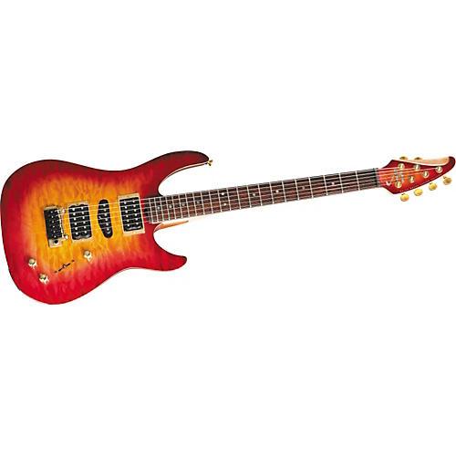 Brian Moore Guitars Custom C90P.USB Quilt Top Electric Guitar