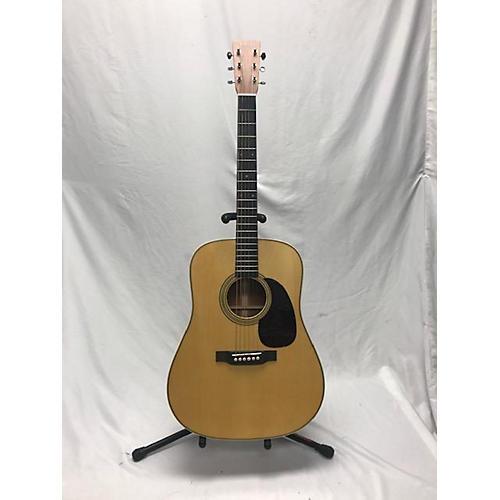 used martin custom d28 namm 2018 acoustic electric guitar antique natural guitar center. Black Bedroom Furniture Sets. Home Design Ideas