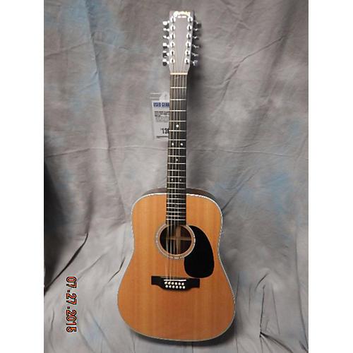 Martin Custom D2812 Natural Acoustic Guitar