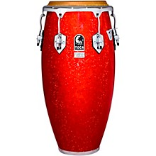 Custom Deluxe Solid Fiberglass Congas 11.75 in. Red Sparkle