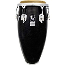 Custom Deluxe Wood Shell Congas 11 in. Black Sparkle