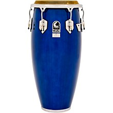 Custom Deluxe Wood Shell Congas 11 in. Blue