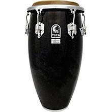 Custom Deluxe Wood Shell Congas 12.50 in. Black Sparkle
