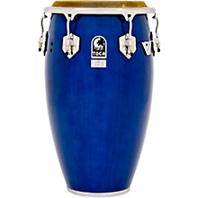 Custom Deluxe Wood Shell Congas 12.50 in. Blue