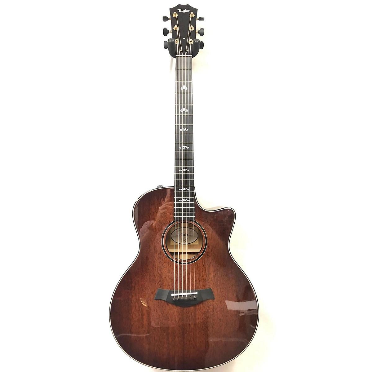 Taylor Custom GS Mahogany Acoustic Electric Guitar