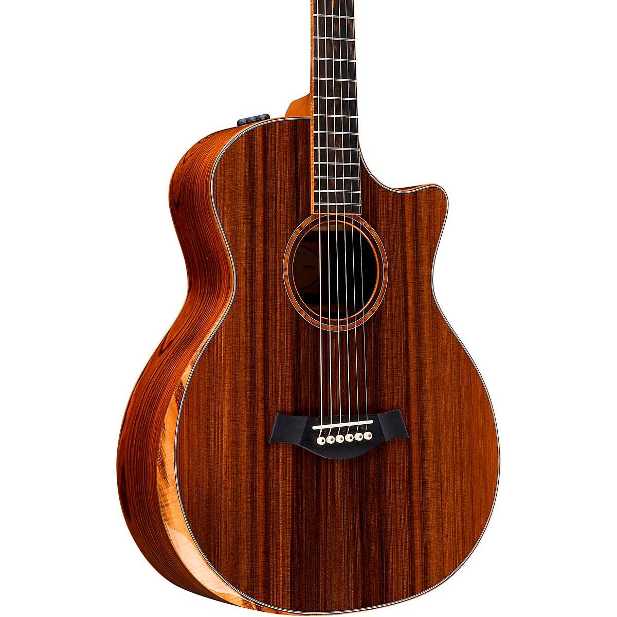 Taylor Custom Grand Auditorium 12-Fret #11090 Sinker Redwood and Cocobolo Acoustic-Electric Guitar