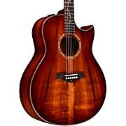 Custom Grand Orchestra #11093 A-Grade Koa Acoustic-Electric Guitar Shaded Edge Burst
