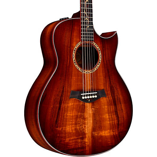 Taylor Custom Grand Orchestra #11093 A-Grade Koa Acoustic-Electric Guitar