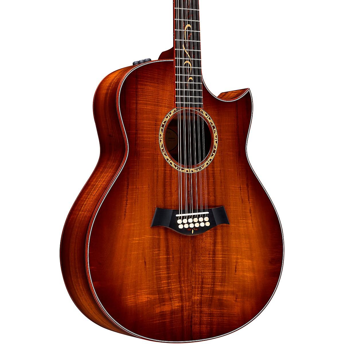 Taylor Custom Grand Orchestra 12-String #11094 A-Grade Koa Acoustic-Electric Guitar