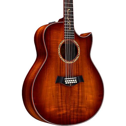 taylor custom grand orchestra 12 string 11094 a grade koa acoustic electric guitar shaded edge. Black Bedroom Furniture Sets. Home Design Ideas