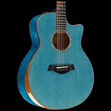 Taylor Custom Grand Symphony #10705 Acoustic-Electric Guitar Koi Blue