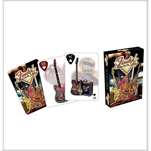 Fender Custom Guitar Shop Playing Cards