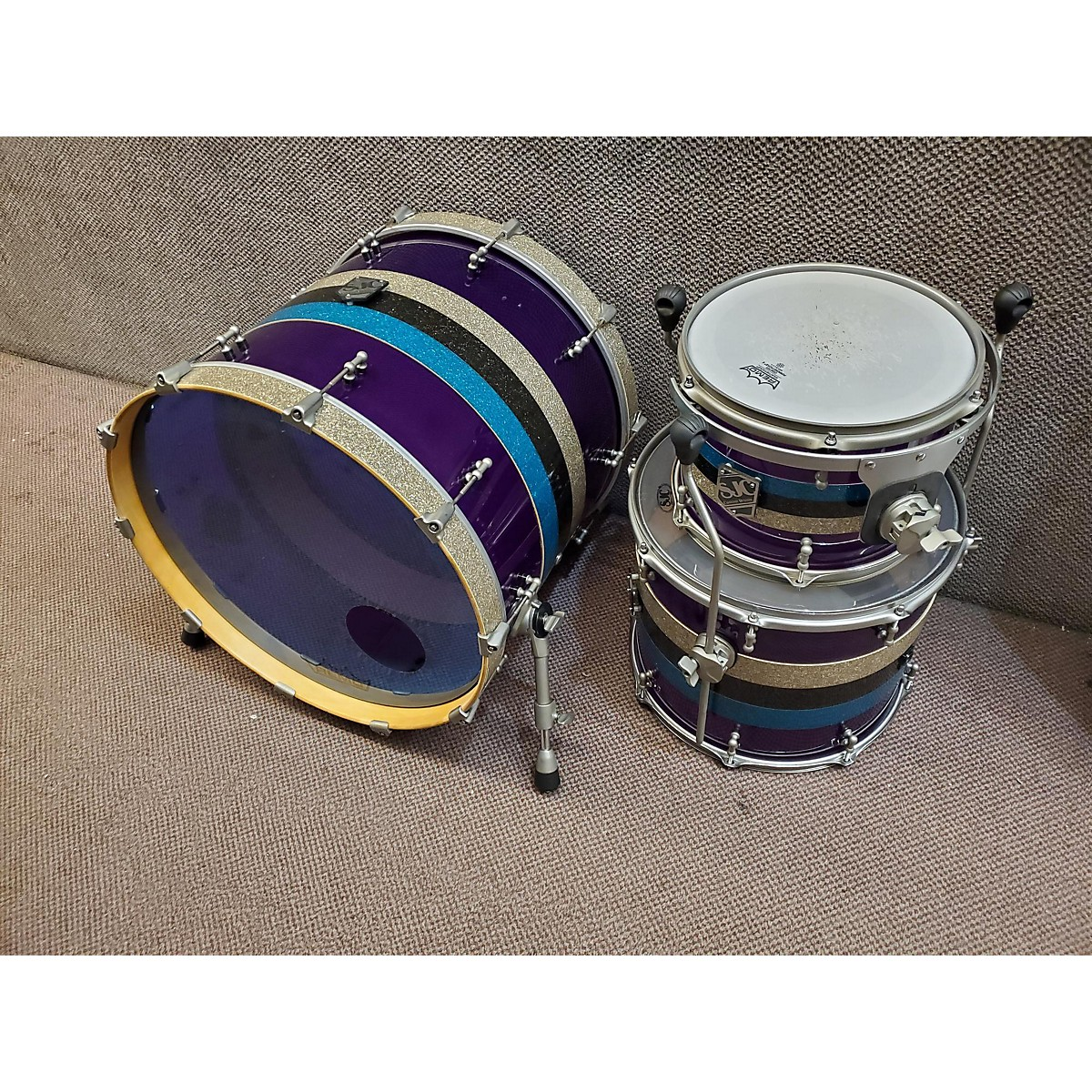 SJC Drums Custom Hybrid Drum Kit