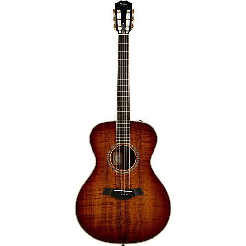 Taylor Custom Koa Grand Concert Left-Handed Acoustic-Electric Guitar