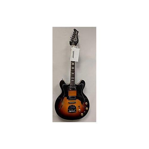 used eastwood custom kraft hollow body electric guitar guitar center. Black Bedroom Furniture Sets. Home Design Ideas