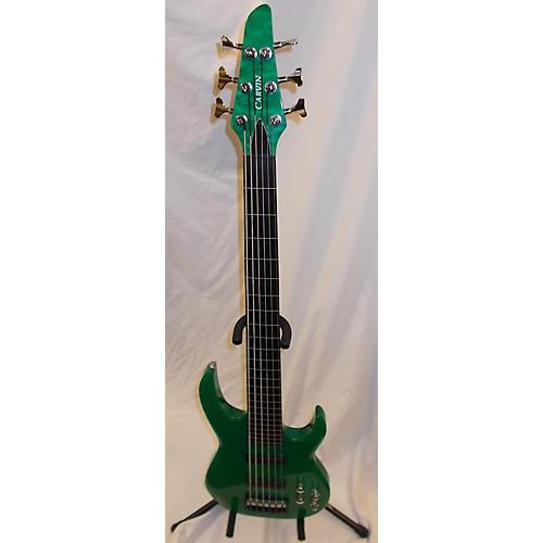 Carvin Custom LB76F Fretless Electric Bass Guitar