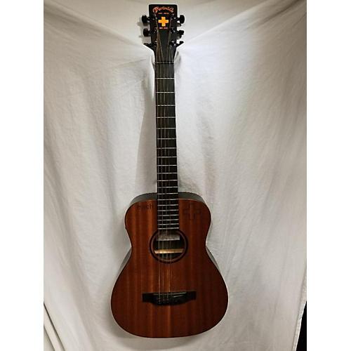 used martin custom lx1e ed sheeran acoustic electric guitar guitar center. Black Bedroom Furniture Sets. Home Design Ideas