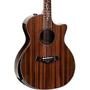Custom Limited Edition Ebony Grand Auditorium Acoustic-Electric Guitar Natural