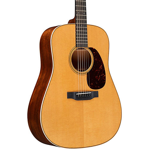 Martin Custom Quilted Mahogany Dreadnought with VTS Top Deluxe