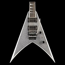 Jackson Custom Select King V Electric Guitar Silver Sparkle