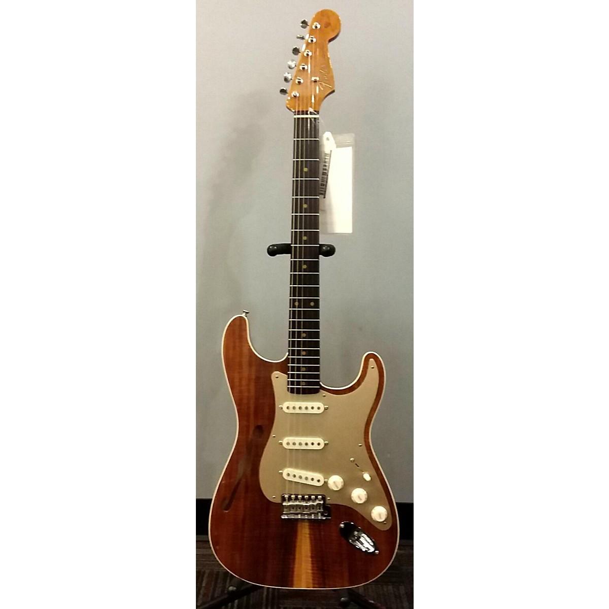Fender Custom Shop Artisan Thinline Stratocaster Hollow Body Electric Guitar