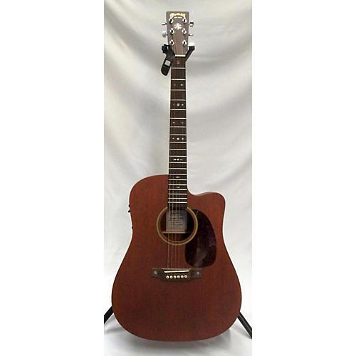 used martin custom shop d14 cutaway mahogany acoustic electric guitar guitar center. Black Bedroom Furniture Sets. Home Design Ideas