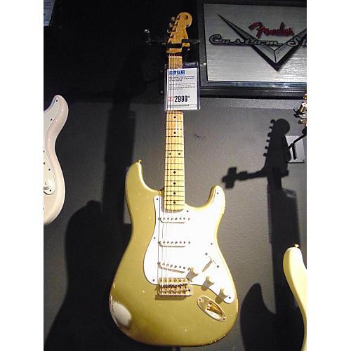 Fender Custom Shop Stratocaster Gold Solid Body Electric Guitar