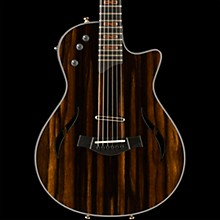 Taylor Custom T5z #10794 African Ebony Acoustic-Electric Guitar Natural
