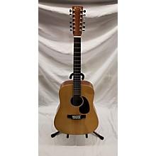 Martin Custom X Series 12 12 String Acoustic Electric Guitar