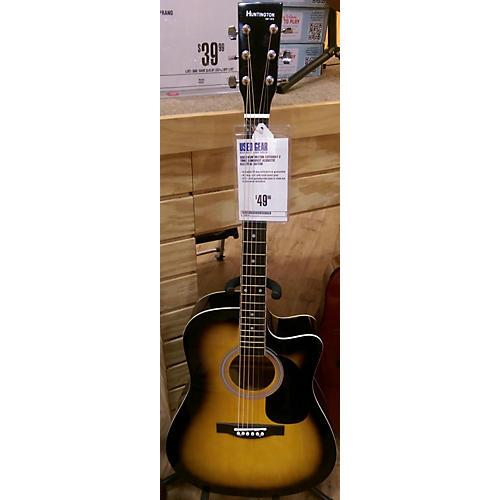 Huntington Cutaway Acoustic Electric Guitar