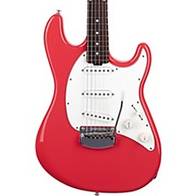 Cutlass RS SSS Rosewood Fingerboard Electric Guitar Coral Red