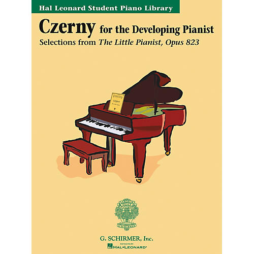 G. Schirmer Czerny Book Only Selections From The Little Pianist Opus 823 Hal Leonard Student Piano Library