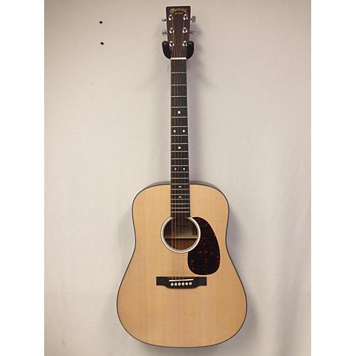 used martin d 10e acoustic electric guitar natural guitar center. Black Bedroom Furniture Sets. Home Design Ideas