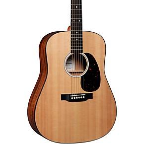 Martin D-10E Road Series Dreadnought Acoustic-Electric Guitar Natural