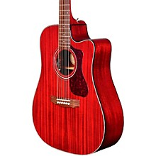 D-120CE Acoustic-Electric Guitar Cherry Red