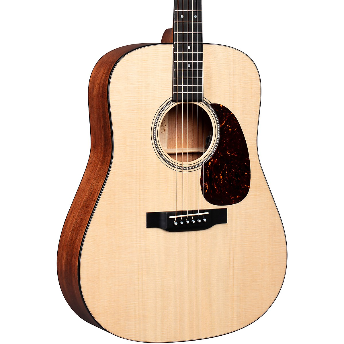 Martin D-16E Mahogany Dreadnought Acoustic-Electric Guitar