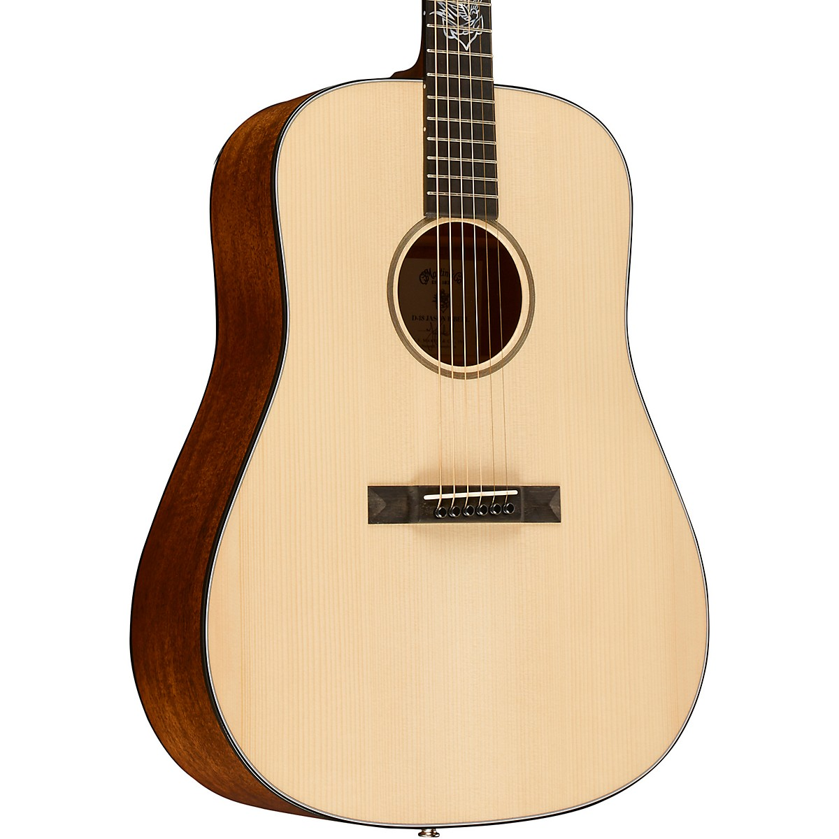 Martin D-18 Jason Isbell Custom Signature Edition Dreadnought Acoustic-Electric Guitar