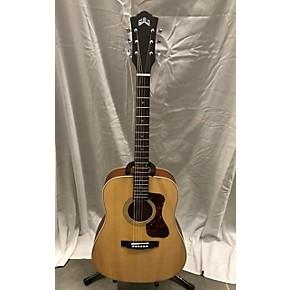 used guild d 240e acoustic electric guitar natural guitar center. Black Bedroom Furniture Sets. Home Design Ideas