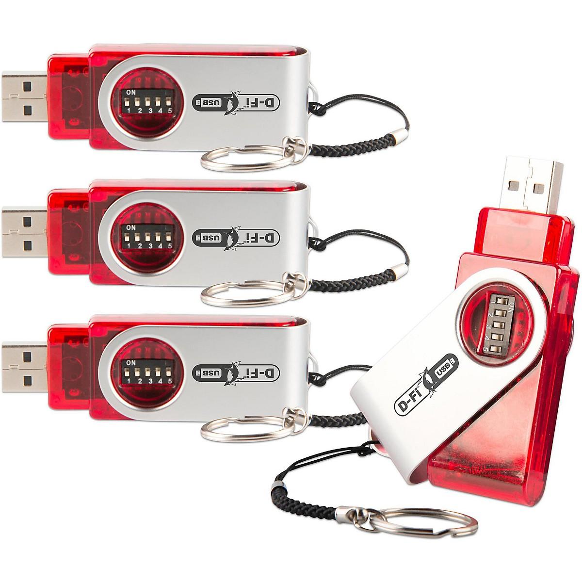CHAUVET DJ D-FI USB 4PK Wireless USB Stage/Effect Light Controller 4-Pack