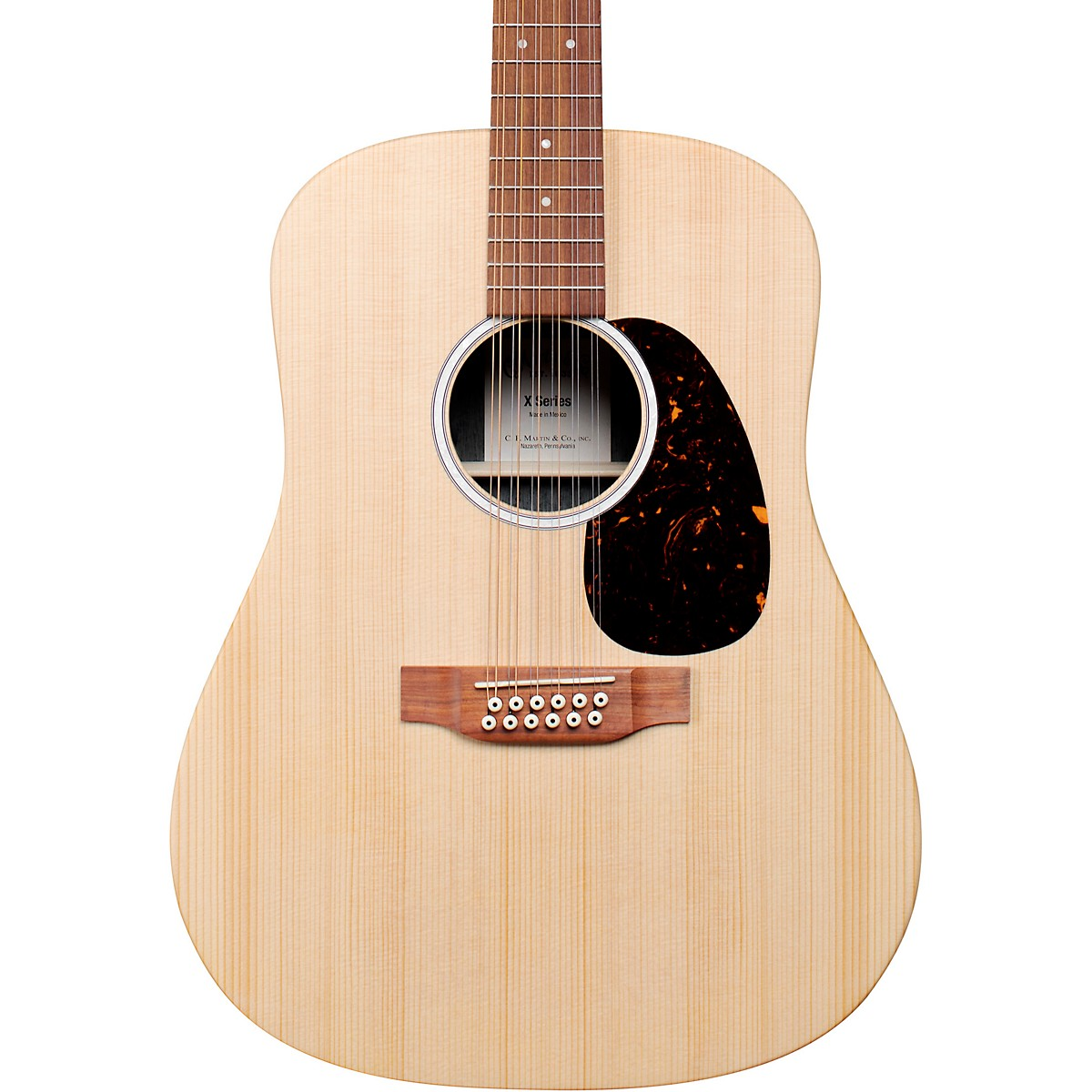 Martin D-X2E 12 String Sitka Spruce Dreadnought Acoustic-Electric Guitar