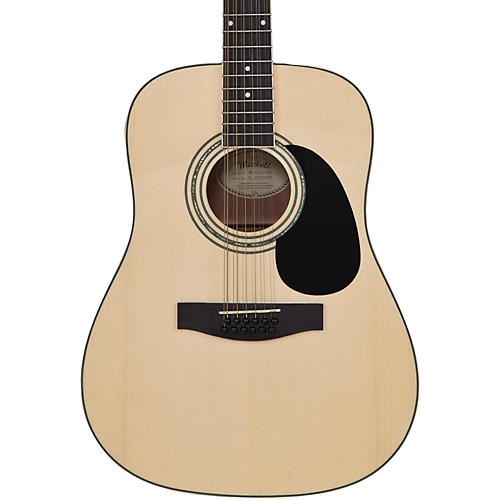 mitchell d100s12e 12 string dreadnought acoustic electric guitar natural guitar center. Black Bedroom Furniture Sets. Home Design Ideas