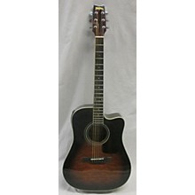 Washburn D10CEQSB Acoustic Electric Guitar
