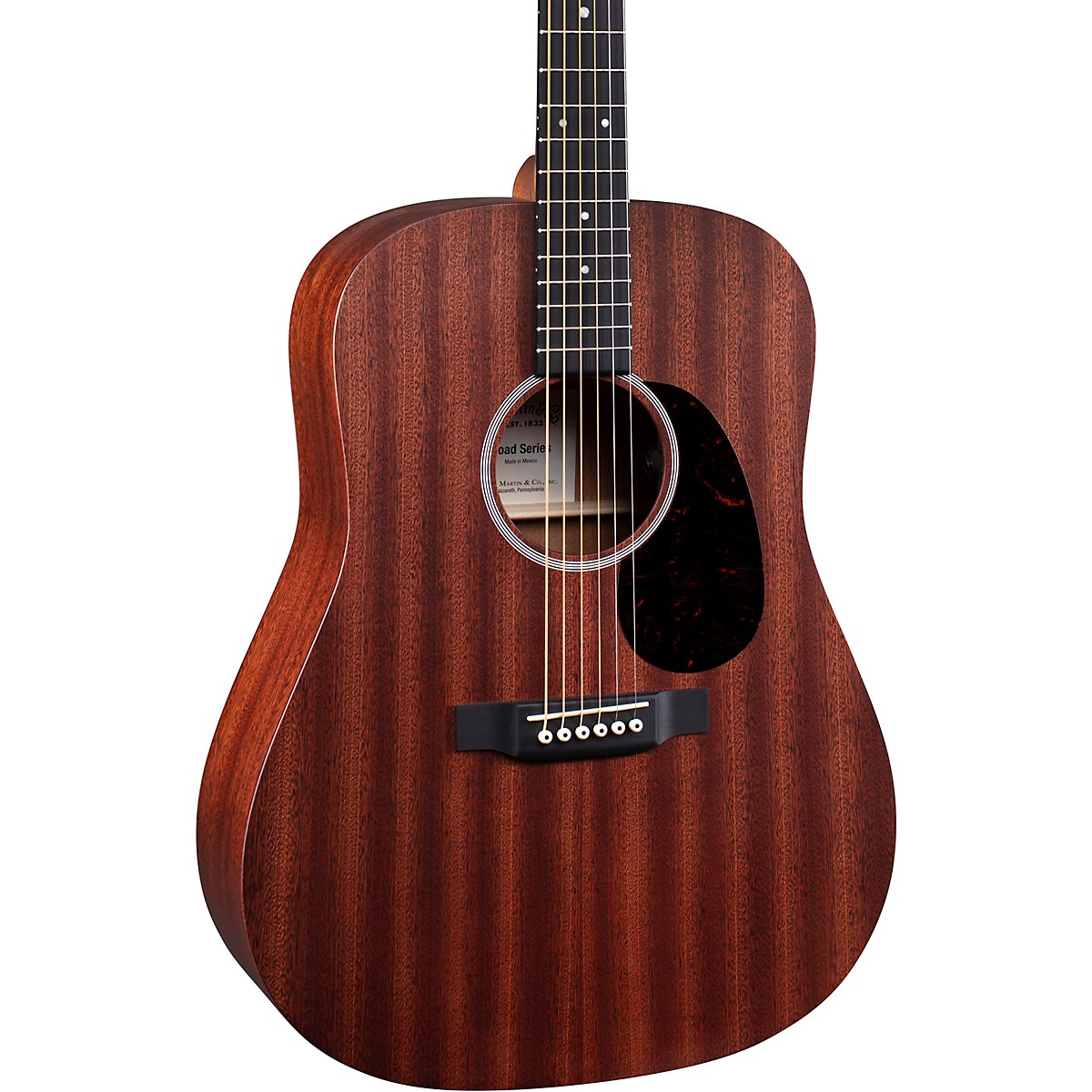 Martin D10E-01 Road Series Dreadnought Acoustic-Electric Guitar