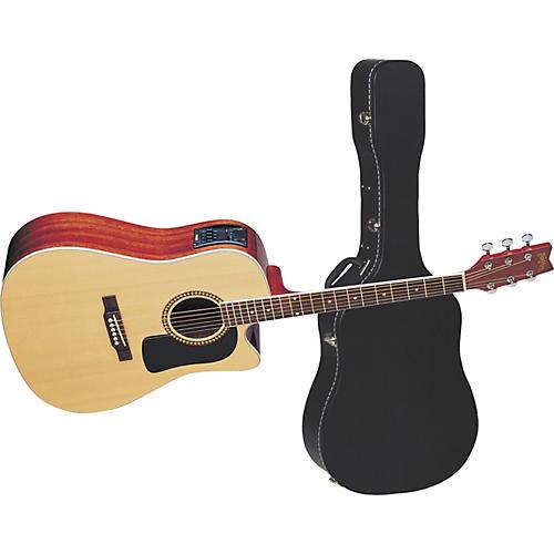washburn d10sce cutaway dreadnought acoustic electric guitar w case guitar center. Black Bedroom Furniture Sets. Home Design Ideas
