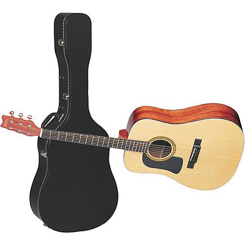 Washburn D10SLH Left-Handed Dreadnought Acoustic Guitar