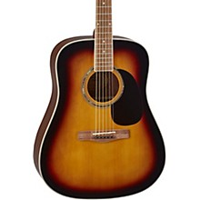 D120BK Dreadnought Acoustic Guitar Sunburst